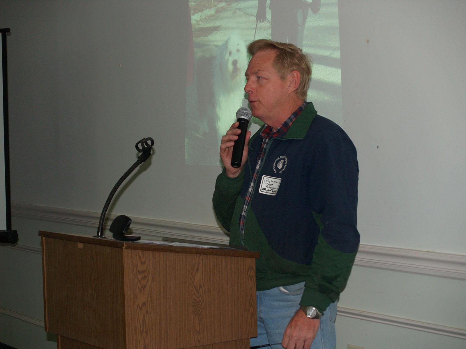 Glenn McGeough, NEOESR President