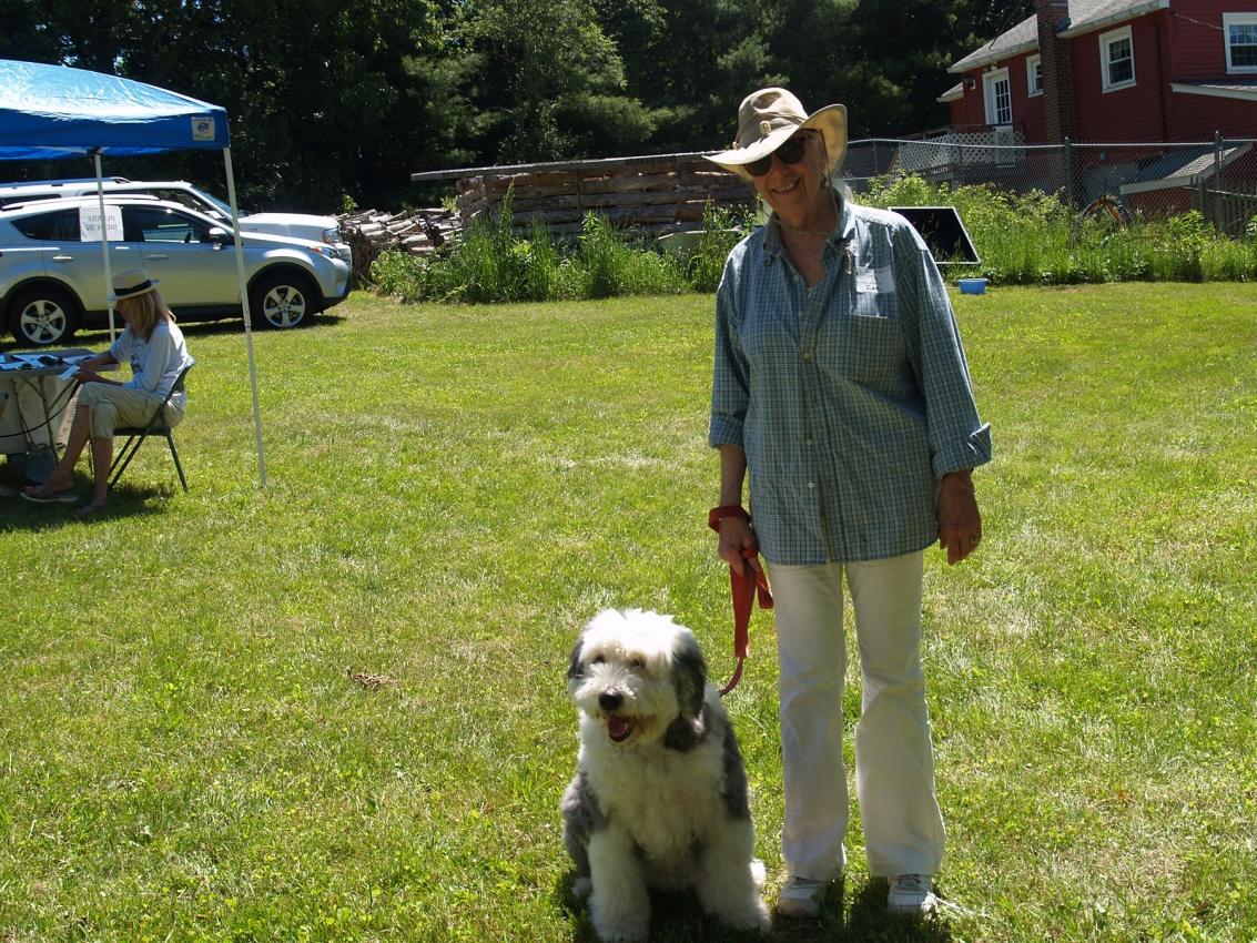 Ty Stroudsburg with Zoe