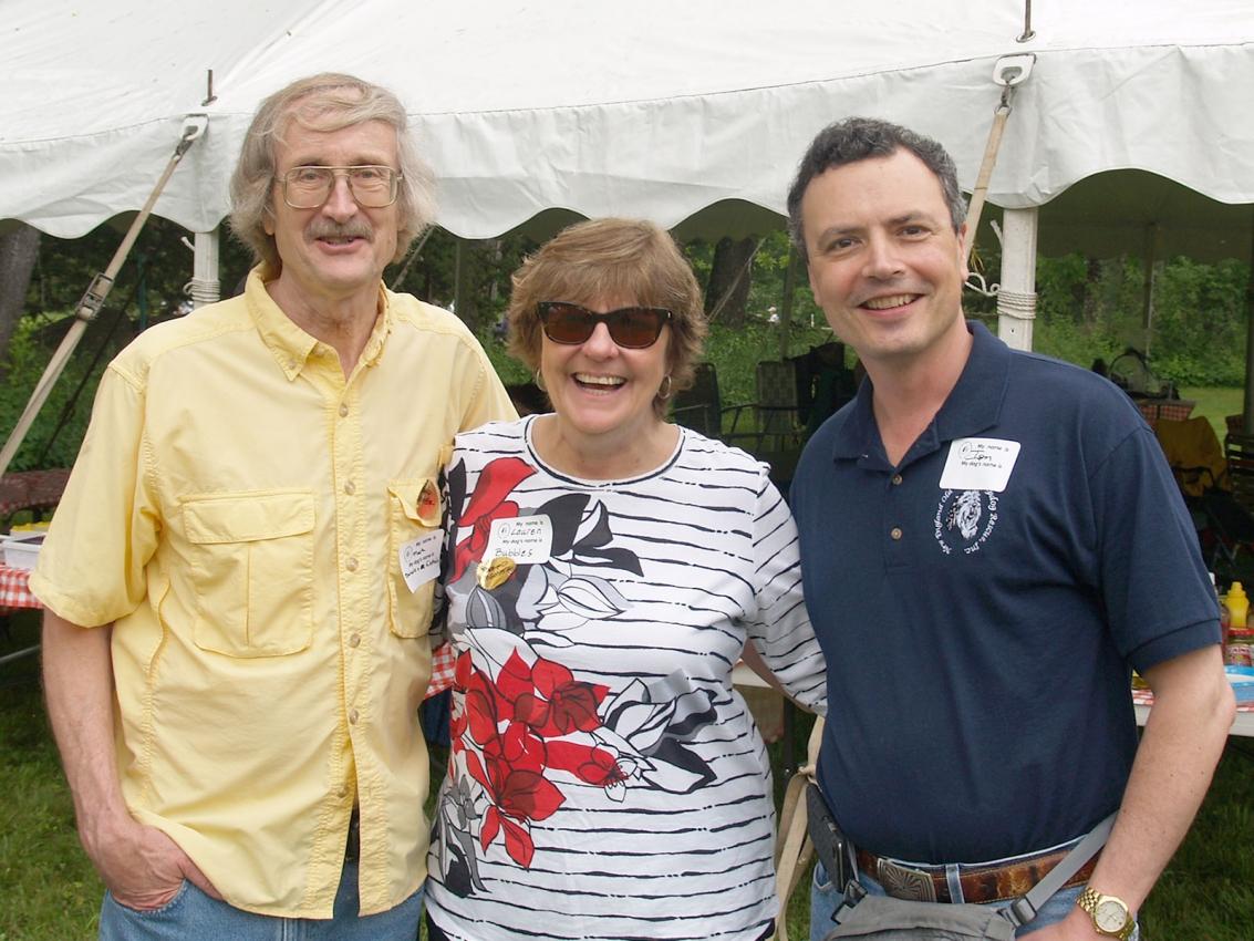 Mark Bancroft, Lauren McIntyre, Ion Abraham