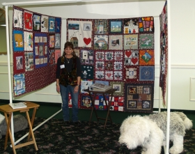 michele grosso rescue quilt