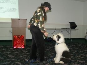 Katherine-Smith-demonstrating-with-OES-Monty