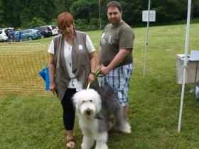 Holly and Jesse DiMauro with OES Penny
