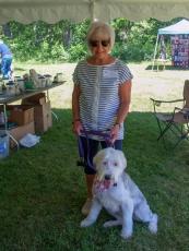 Carole Stevens and OES Daisy May