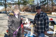 Jeann and Paul Perron with Lakota