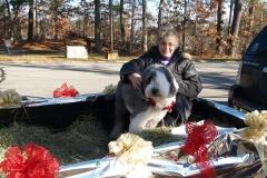 Jeann Perron with OES Lakota